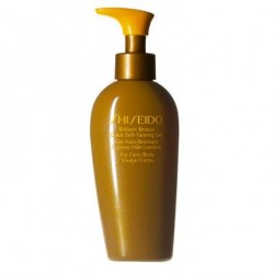 SHISEIDO BRILLANT BRONZE QUICK SELF-TANNING GEL 150ml