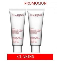 CLARINS CREMA DE MANOS PROMOCION 2X100ml + CREMA DE PIES 30ml