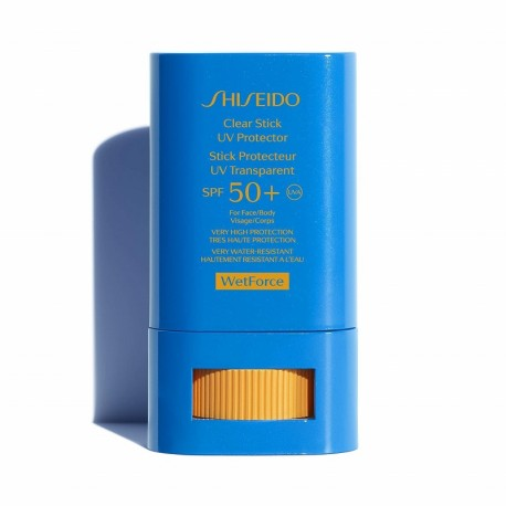 SHISEIDO CLEAR STICK UV PRORECTOR WETFORCE SPF 50+