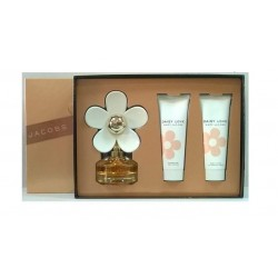 MARC JACOBS DAISY LOVE ESTUCHE ET 50 + BODY LOTION 75ml + GEL 75ml