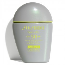 SHISEIDO SPORTS BB SPF50+ QUICK DRY WETFORCE 3TONOS