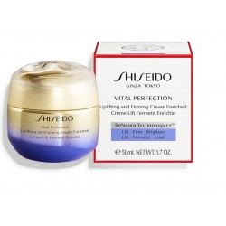 SHISEIDO VITAL PERFECTION UPLIFTING AND FIRMING CREAM ENRICHED