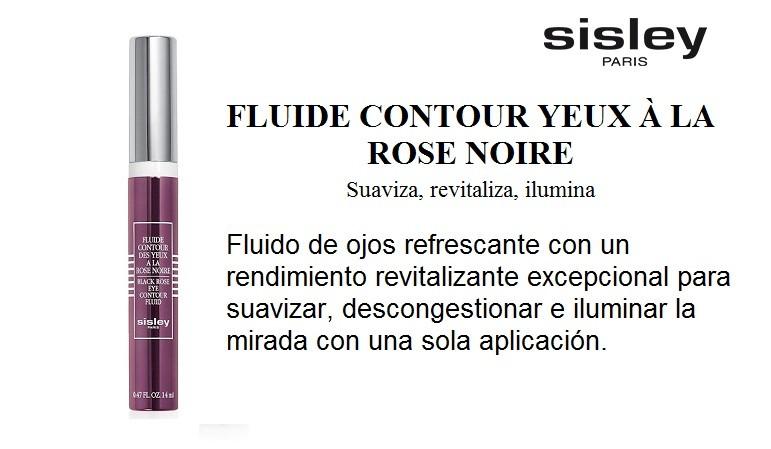 SISLEY FLUIDE CONTOUR YEUX A LA ROSE NOIRE